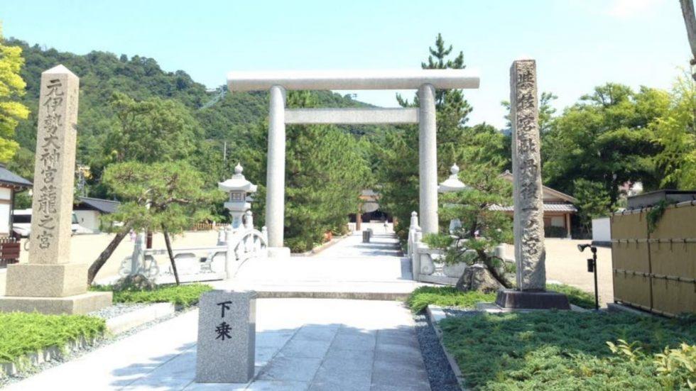 京都の元伊勢籠神社